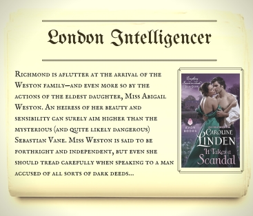 Series Scandal Sheet_London Intelligencer ITAS